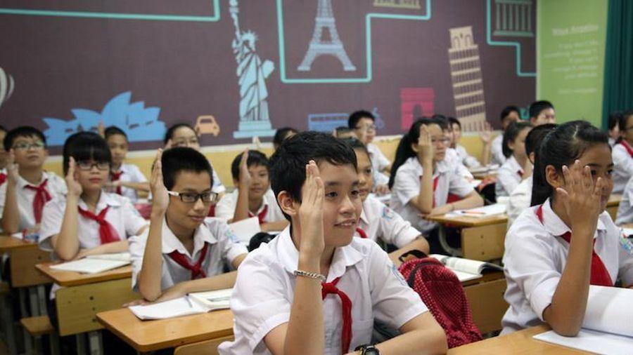 Hà Nội cần sớm thông tin về tuyển sinh hệ song bằng đối với lớp 6