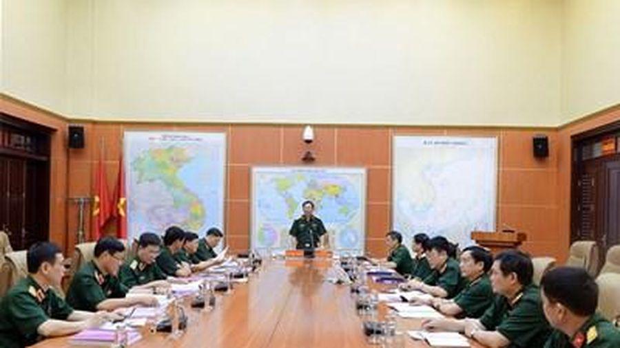 Đánh giá, nghiệm thu Đề tài về nhiệm vụ quân sự, quốc phòng trong tình hình mới