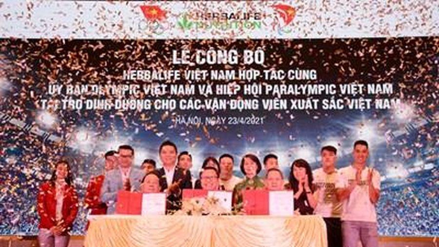 150 vận động viên xuất sắc được tài trợ dinh dưỡng thể thao