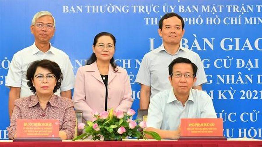 TPHCM hướng dẫn người ứng cử ĐBQH, ĐB HĐND viết tiểu sử, chương trình hành động