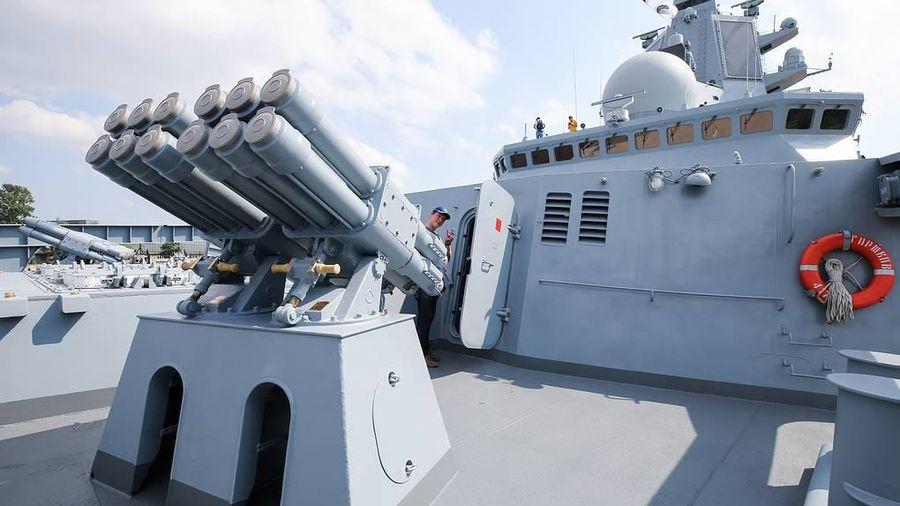 Khinh hạm mang tên lửa dẫn đường trở thành trụ cột của Hải quân Nga