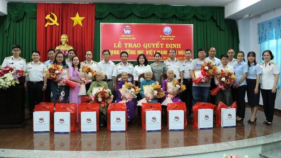 8 Mẹ Việt Nam Anh hùng được nhận phụng dưỡng suốt đời