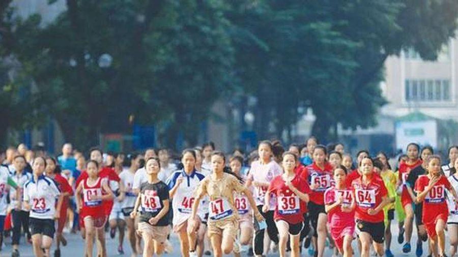 2.500 người dự Lễ phát động Giải chạy Báo Hànôịmới mở rộng năm 2021 hướng tới SEA Games 31