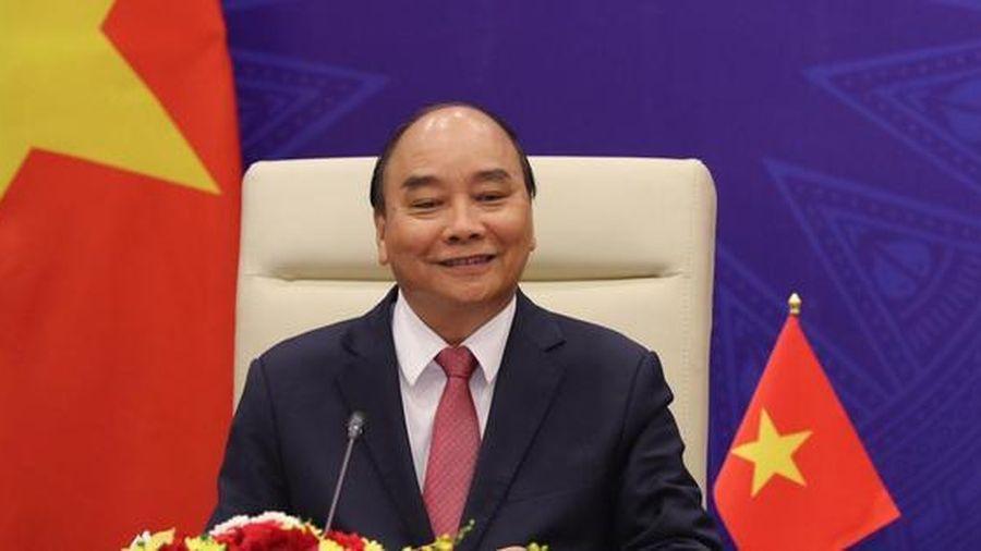 Chủ tịch nước Nguyễn Xuân Phúc có bài phát biểu quan trọng về khí hậu