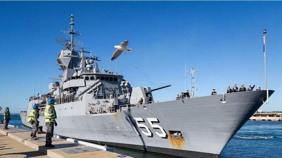 Hai tàu hải quân Australia tham gia tìm kiếm tàu ngầm Indonesia