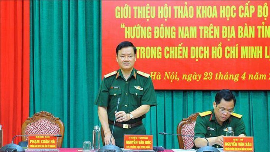 'Hướng Đông Nam trên địa bàn tỉnh Đồng Nai trong Chiến dịch Hồ Chí Minh lịch sử'
