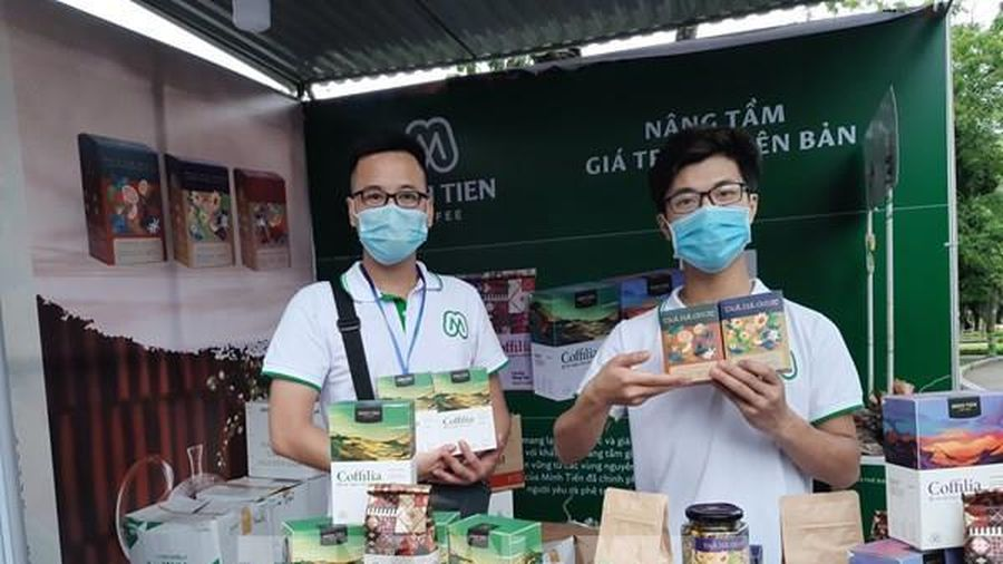 100 gian hàng tham dự Tuần hàng Việt thành phố Hà Nội 2021