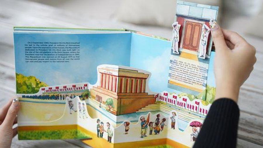 Ra mắt sách pop-up đầu tiên về Hà Nội
