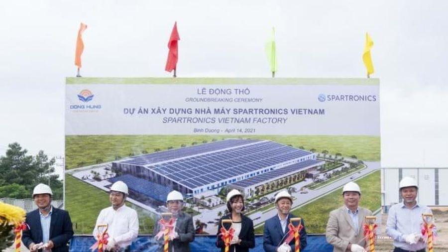 Spartronics khởi công nhà máy mới quy mô 27.000m2 tại Việt Nam