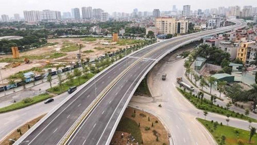 Hà Nội: Cấm xe lưu thông trên đường vành đai 3 đoạn Mai Dịch - Cầu Thăng Long từ tối nay