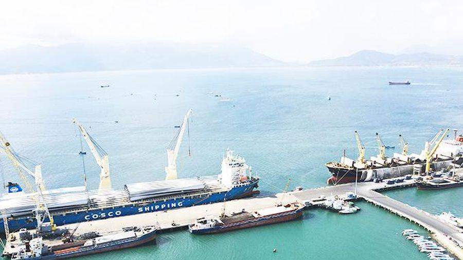 Cảng Cam Ranh: Quý I, tổng sản lượng hàng hóa đạt 808.000 tấn