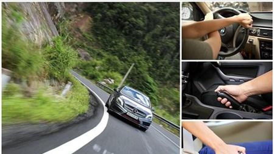Xe ôtô mất phanh cách xử lý an toàn
