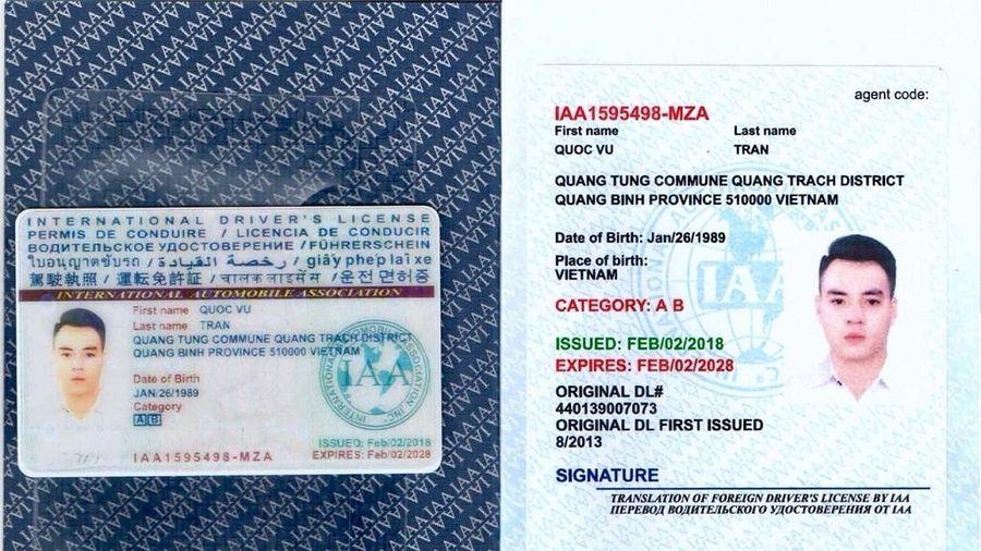 Quy định về sử dụng giấy phép lái xe quốc tế tại Việt Nam