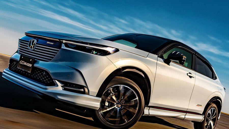 Honda HR-V 2021 thể thao hơn nhờ gói độ của Mugen