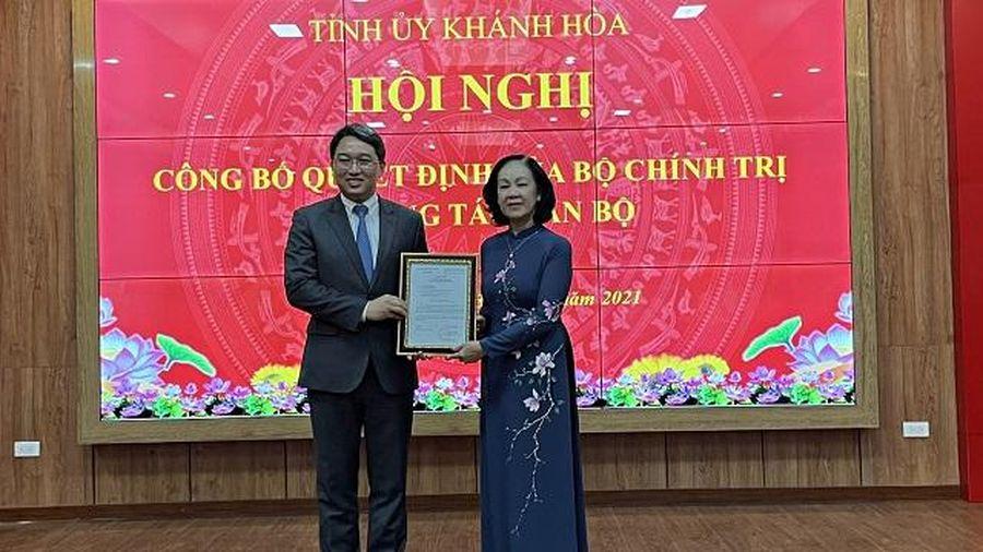 Đồng chí Nguyễn Hải Ninh giữ chức Bí thư Tỉnh ủy Khánh Hòa