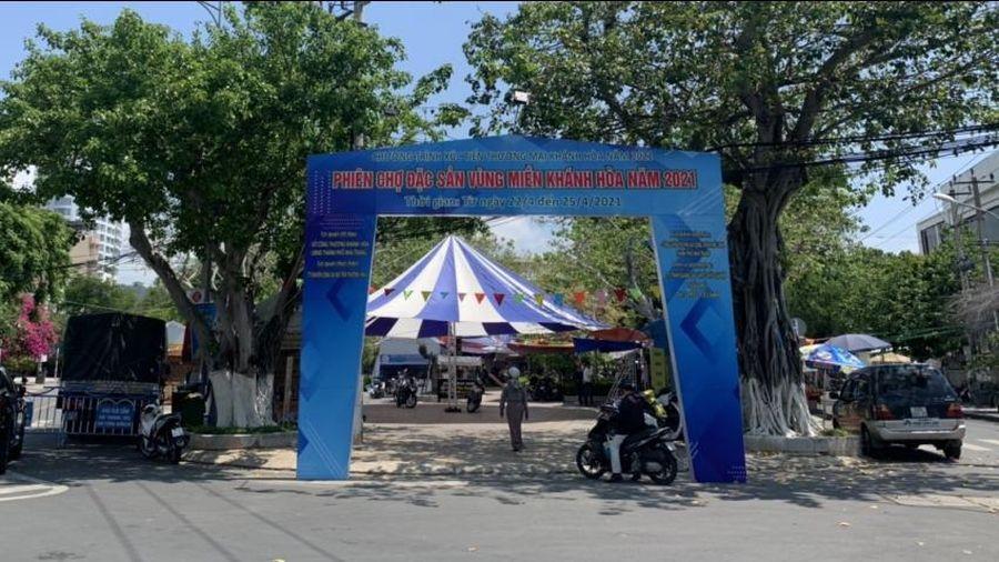 Khai mạc phiên chợ đặc sản vùng miền Khánh Hòa năm 2021