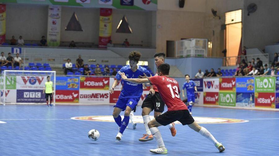 Giải Futsal HDBank VĐQG 2021: Thắng đậm chủ nhà, Sahako vươn lên dẫn đầu