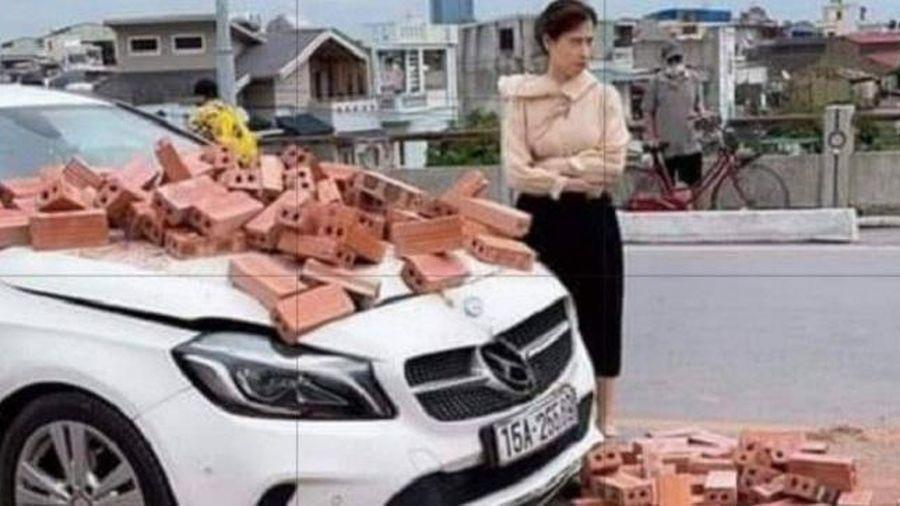 Chủ Mercedes không bắt đền, CSGT vẫn cần phạt tài xế xe chở gạch