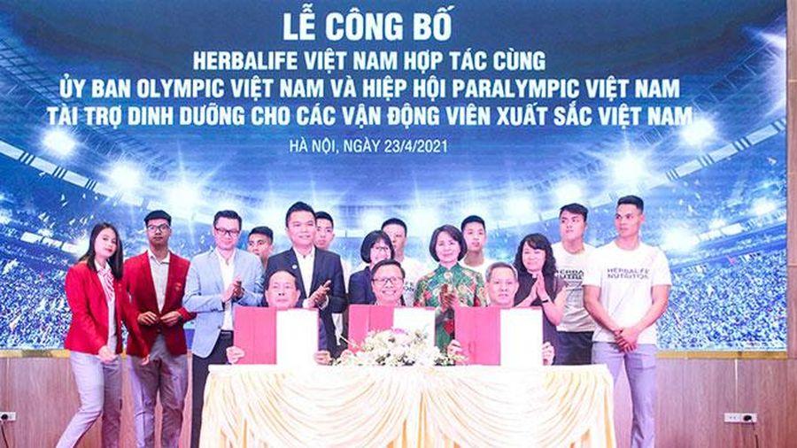 150 vận động viên xuất sắc Việt Nam được tài trợ dinh dưỡng
