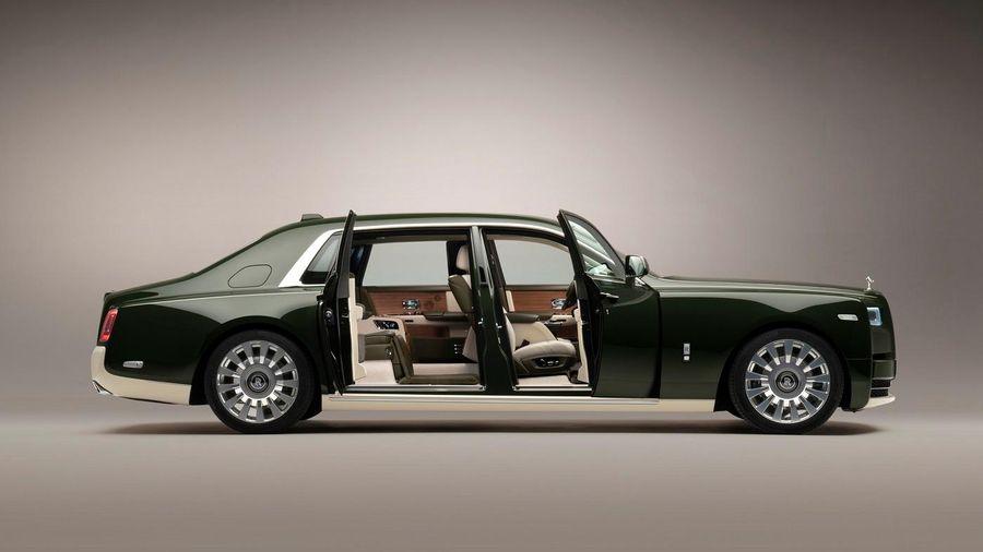 Rolls-Royce tiết lộ những chi tiết đắt giá trên phiên bản Bespoke Phantom Oribe
