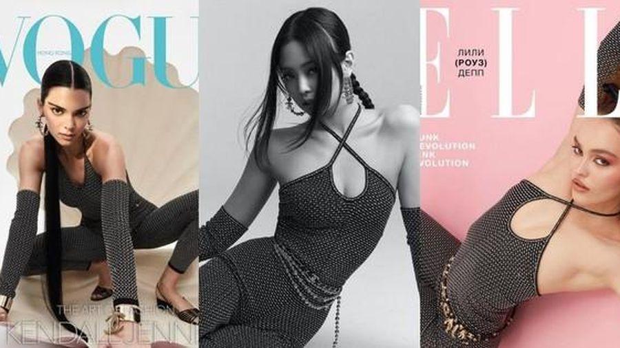 Jennie BLACKPINK liệu có lép vế khi đụng độ bìa báo với Lily-Rose Depp và Kendall Jenner?