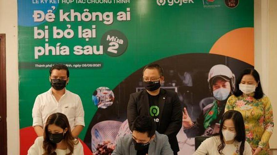 Gojek Việt Nam khởi động dự án 'Để không ai bị bỏ lại phía sau' mùa 2