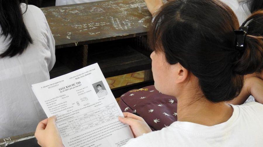 Đã có 631.110 thí sinh đăng ký dự thi tốt nghiệp THPT năm 2021