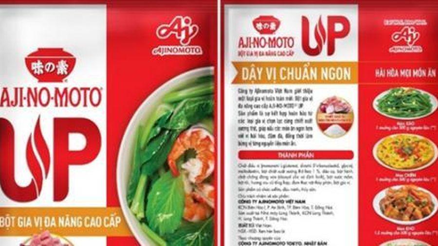 Trải nghiệm nấu ăn tiện lợi với bột gia vị đa năng cao cấp AJI-NO-MOTO UP
