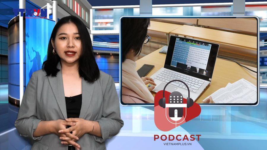 Nghỉ học phòng dịch, phụ huynh băn khoăn về thi học kỳ online