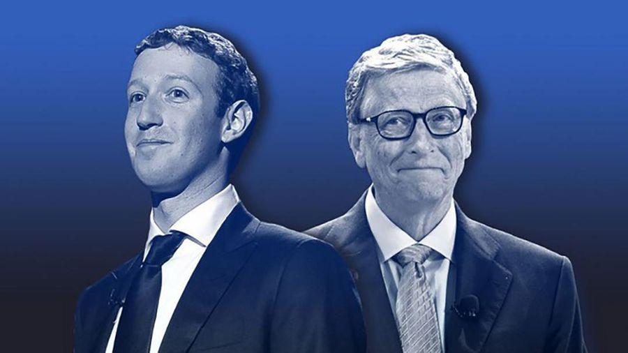 Bill Gates chỉ cần 5 năm để thành tỷ phú nhưng vẫn kém xa Mark Zuckerberg