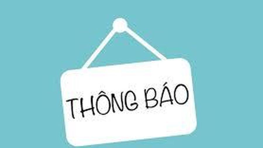 Sở Y tế Quảng Ninh đề nghị người đến Bệnh viện Nhiệt đới Trung ương cơ sở 2 Kim Chung từ ngày 10/4 khai báo y tế