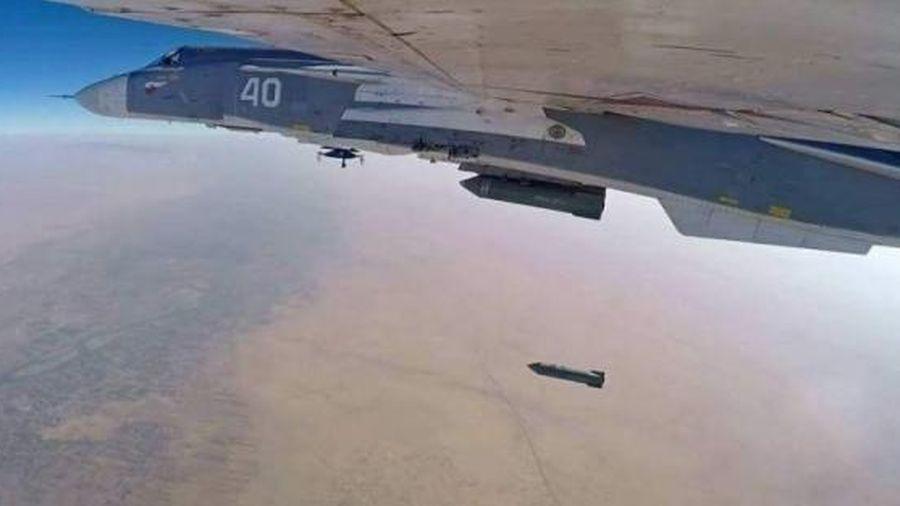 Không quân Vũ trụ Nga ồ ạt tấn công, hủy diệt các tay súng Syria