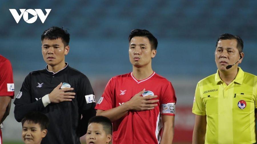 Trận đấu Viettel - Hà Tĩnh sẽ diễn ra trên sân Việt Trì