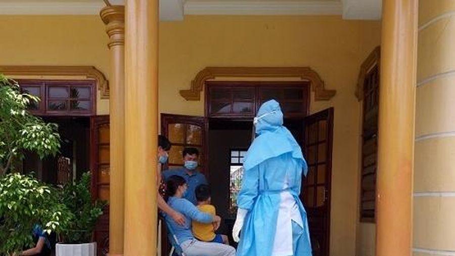 Quảng Bình: Truy vết 2 trường hợp F1 liên quan đến bệnh nhân COVID-19