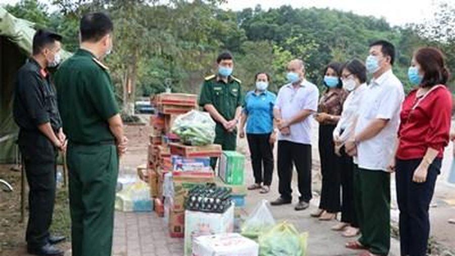 Huyện Trấn Yên tích cực hỗ trợ công tác phòng, chống dịch