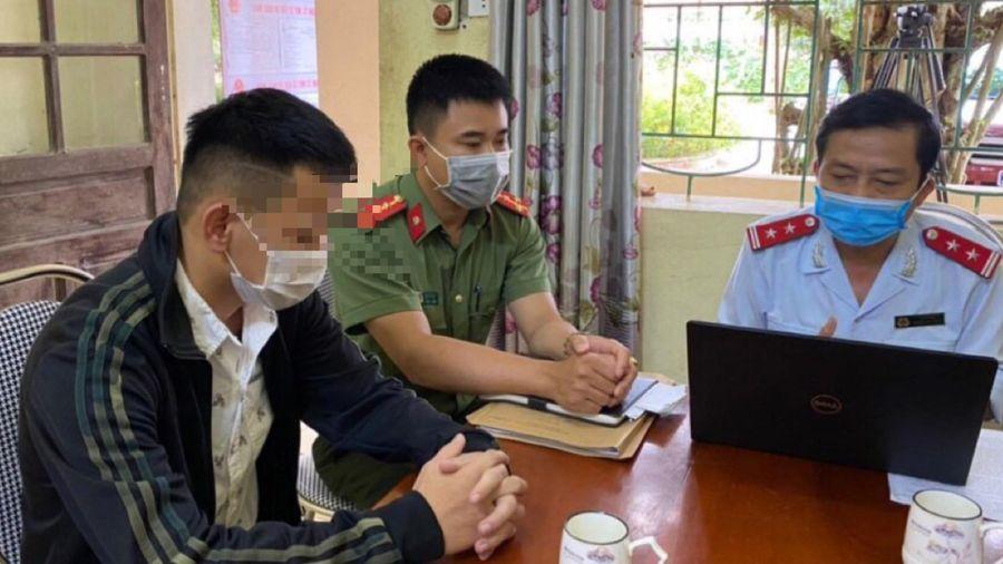 Phạt thanh niên loan tin tỷ phú Trịnh Văn Quyết bị bắt
