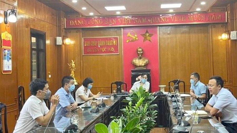 171 trường hợp F1, F2 liên quan 3 ca dương tính lần 1 với SARS-CoV-2 tại huyện Sóc Sơn