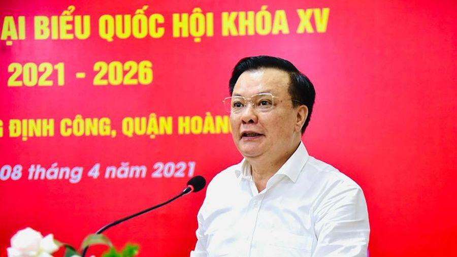 Bí thư Thành ủy Hà Nội Đinh Tiến Dũng: Không có chuyện phong tỏa Hà Nội tại thời điểm này như tin đồn trên mạng