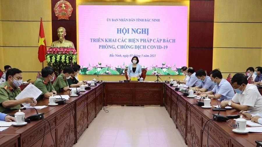 Ghi nhận 2 ca COVID-19, Bắc Ninh cấp bách chống dịch