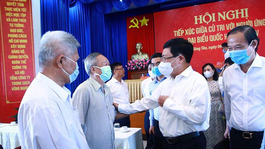 Phó Thủ tướng Phạm Bình Minh ứng cử ĐBQH tại Bà Rịa-Vũng Tàu