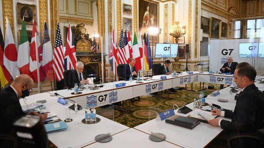 G7 hợp tác giải quyết các vấn đề nóng