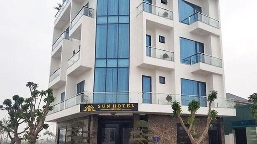 Cách ly y tế khách sạn Sun ở TP Hải Dương