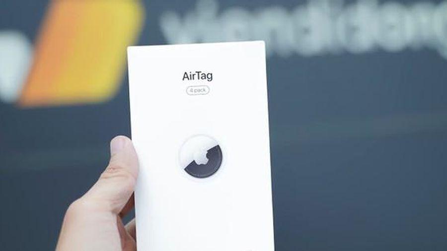 Apple AirTag đầu tiên về Việt Nam, giá 990 ngàn đồng
