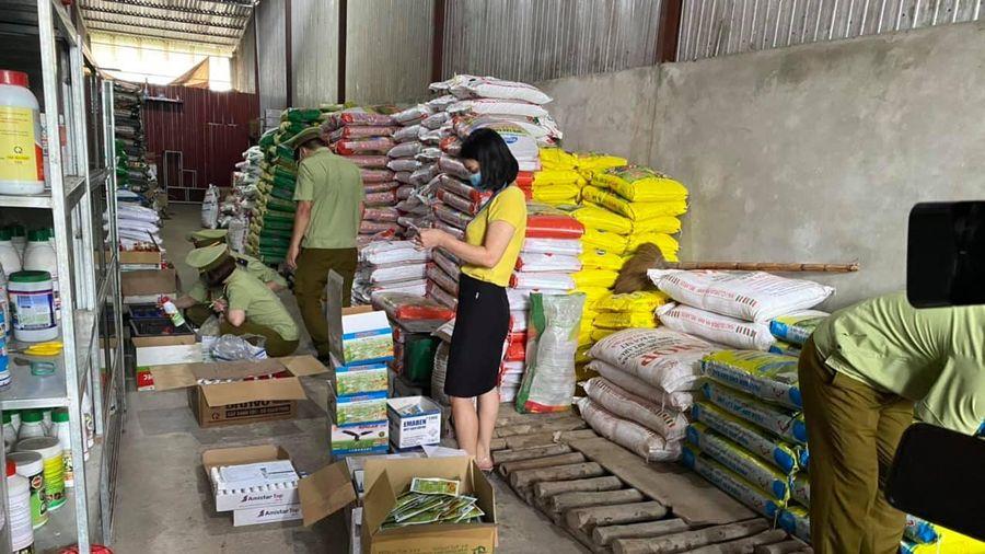Hà Giang: Thu giữ gần 4.000 sản phẩm thuốc bảo vệ thực vật hết hạn sử dụng