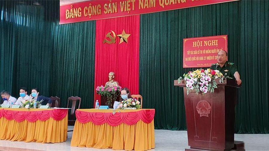 Phú Yên: Tiếp xúc giữa cử tri với những người ứng cử đại biểu Quốc hội khóa XV