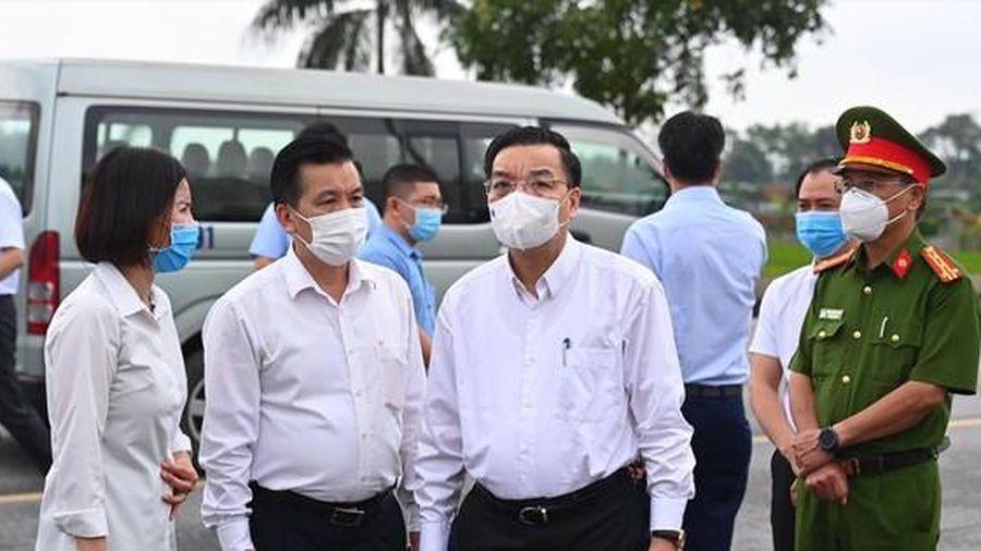 Chủ tịch Hà Nội chỉ đạo nóng về 'ổ dịch' Bệnh viện Bệnh Nhiệt đới Trung ương