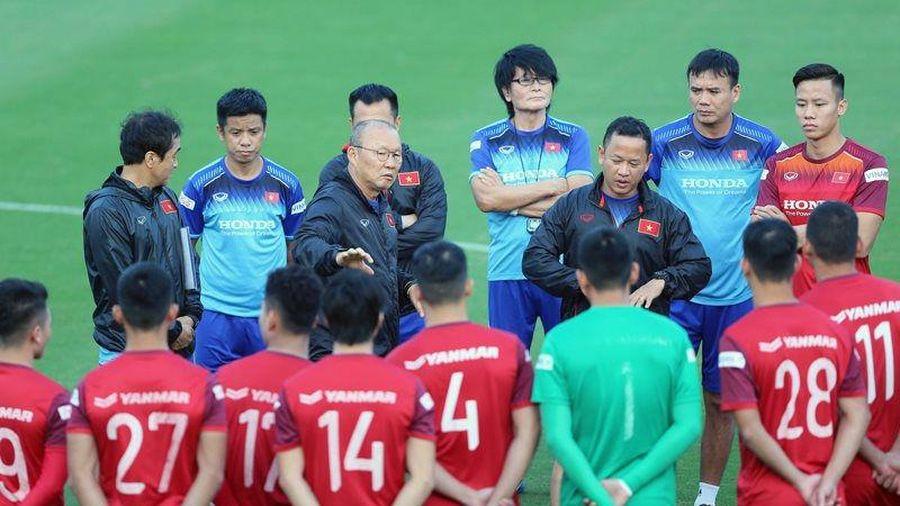 HLV Park Hang-seo công bố danh sách 37 cầu thủ chuẩn bị cho Vòng loại World Cup 2022