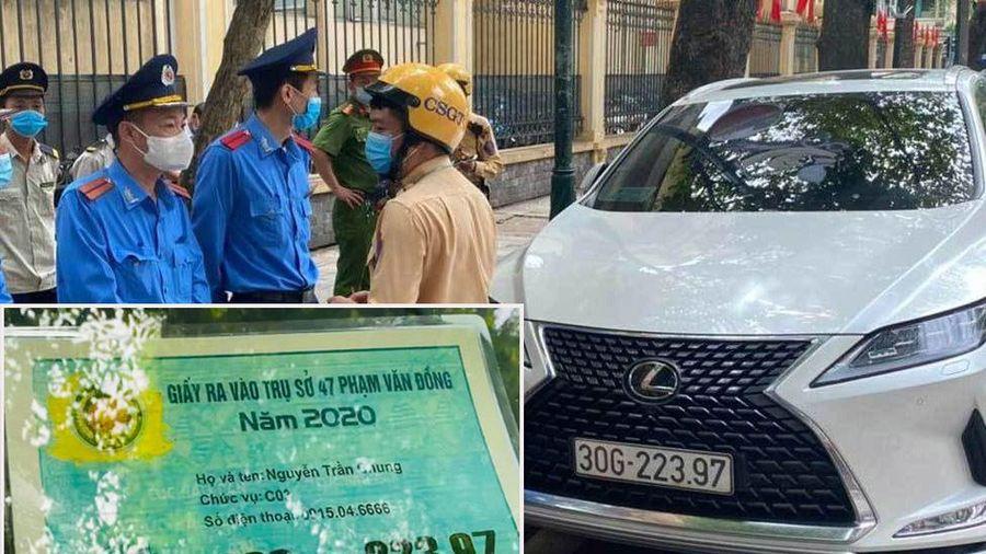 Xe Lexus có giấy ra vào Bộ Công an là mẫu gì, giá bao nhiêu?