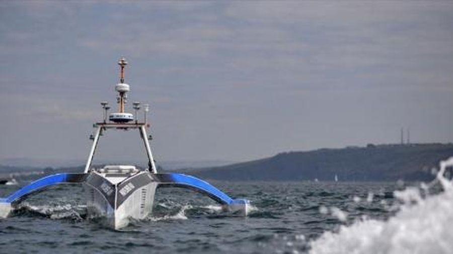 Tàu biển tự hành trang bị công nghệ trí tuệ nhân tạo đầu tiên trên thế giới