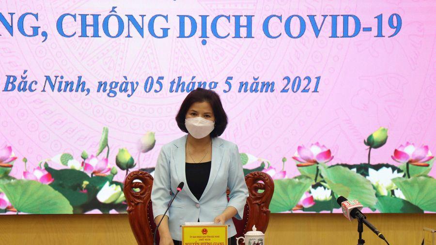 Bắc Ninh nâng mức độ chống dịch COVID-19 lên cấp độ cao nhất